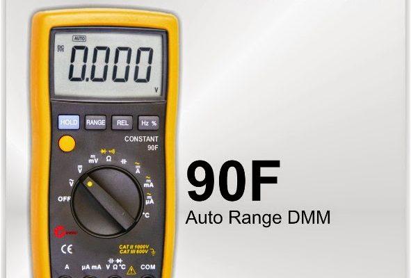 90F – DIGITAL MULTIMETER AUTO RANGE CONSTANT