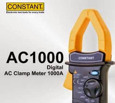 CONSTANT Clamp Meter AC1000
