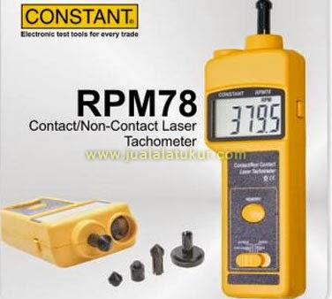 RPM 78 TACHOMETER CONSTANT