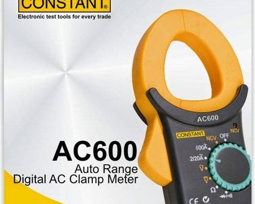 AC 600 DIGITAL CLAMP METER CONSTANT