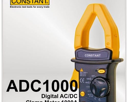 ADC 1000 DIGITAL CLAMP METER CONSTANT