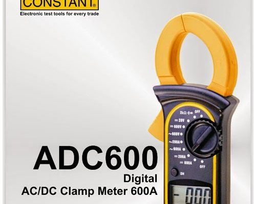 ADC 600 DIGITAL CLAMP METER CONSTANT