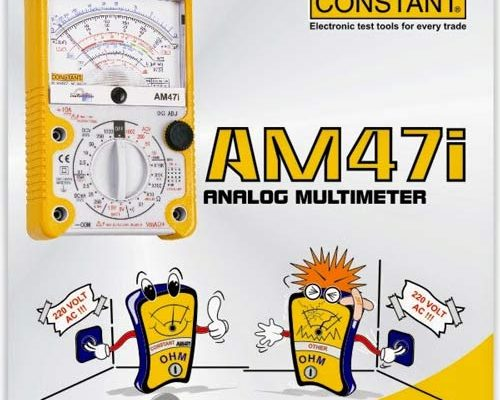 AM47i – ANALOG MULTIMETER AJAIB CONSTANT