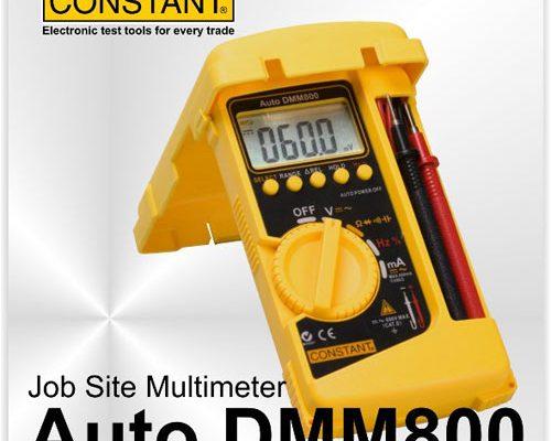 DMM-800 – DIGITAL MULTIMETER